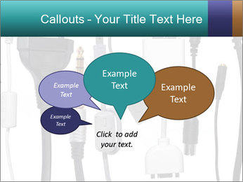Cables of Digital Devices PowerPoint Templates - Slide 73