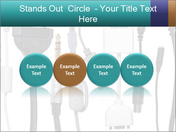 Cables of Digital Devices PowerPoint Templates - Slide 76