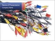 Colorful Cables PowerPoint Templates