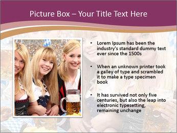Oktoberfest and Waiters PowerPoint Template - Slide 13