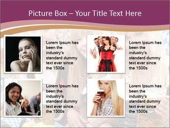 Oktoberfest and Waiters PowerPoint Template - Slide 14
