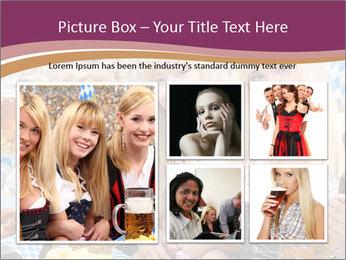 Oktoberfest and Waiters PowerPoint Template - Slide 19