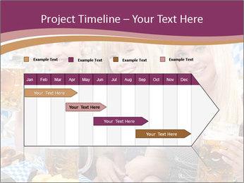 Oktoberfest and Waiters PowerPoint Template - Slide 25