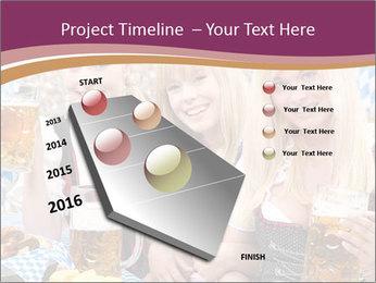 Oktoberfest and Waiters PowerPoint Template - Slide 26