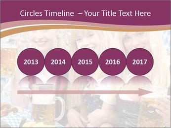 Oktoberfest and Waiters PowerPoint Template - Slide 29
