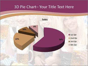 Oktoberfest and Waiters PowerPoint Template - Slide 35