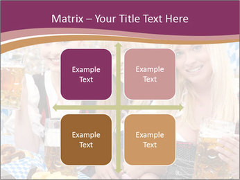 Oktoberfest and Waiters PowerPoint Template - Slide 37