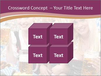 Oktoberfest and Waiters PowerPoint Template - Slide 39