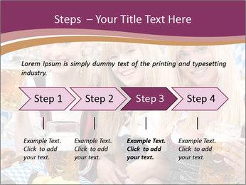 Oktoberfest and Waiters PowerPoint Template - Slide 4