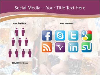 Oktoberfest and Waiters PowerPoint Template - Slide 5
