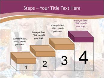 Oktoberfest and Waiters PowerPoint Template - Slide 64