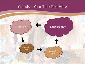 Oktoberfest and Waiters PowerPoint Template - Slide 72