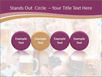 Oktoberfest and Waiters PowerPoint Template - Slide 76