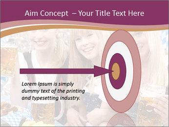 Oktoberfest and Waiters PowerPoint Template - Slide 83