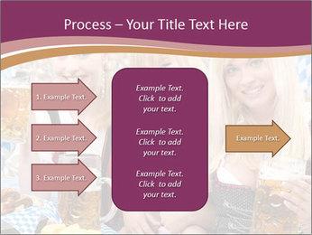 Oktoberfest and Waiters PowerPoint Template - Slide 85