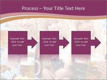 Oktoberfest and Waiters PowerPoint Template - Slide 88