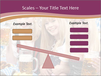 Oktoberfest and Waiters PowerPoint Template - Slide 89