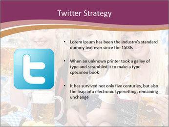 Oktoberfest and Waiters PowerPoint Template - Slide 9