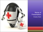 Medical Robot PowerPoint Templates