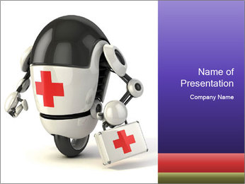 Medical Robot PowerPoint Templates - Slide 1