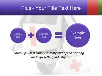 Medical Robot PowerPoint Templates - Slide 75
