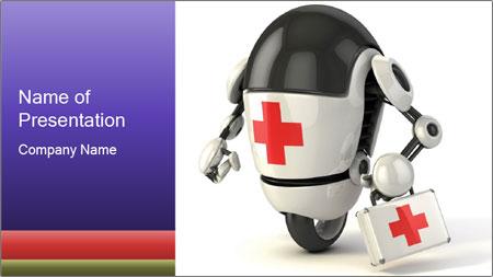 Medical Robot PowerPoint Template