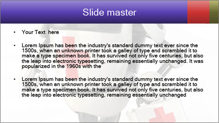 Medical Robot PowerPoint Template - Slide 2