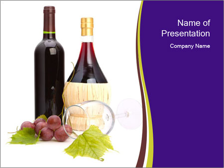 The Best Wine PowerPoint Template
