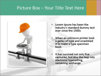 3d Worker Fixing Pipes PowerPoint Template - Slide 13