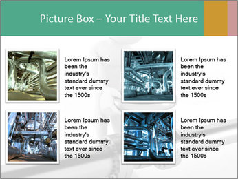 3d Worker Fixing Pipes PowerPoint Template - Slide 14