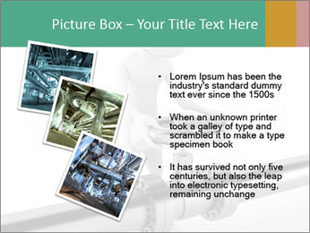 3d Worker Fixing Pipes PowerPoint Template - Slide 17
