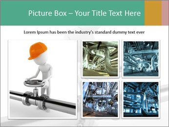 3d Worker Fixing Pipes PowerPoint Template - Slide 19