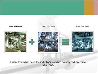 3d Worker Fixing Pipes PowerPoint Template - Slide 22