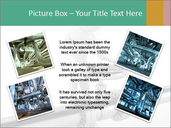 3d Worker Fixing Pipes PowerPoint Template - Slide 24