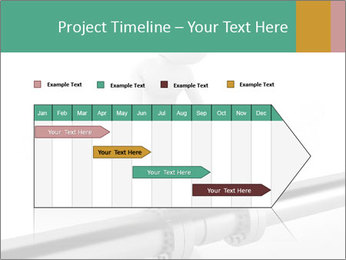 3d Worker Fixing Pipes PowerPoint Template - Slide 25