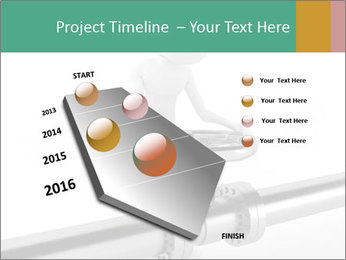 3d Worker Fixing Pipes PowerPoint Template - Slide 26