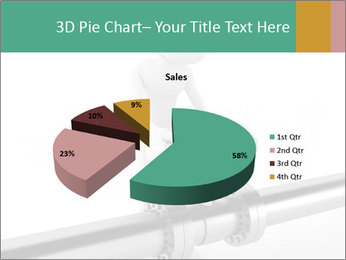3d Worker Fixing Pipes PowerPoint Template - Slide 35