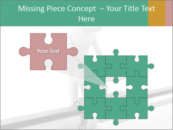 3d Worker Fixing Pipes PowerPoint Template - Slide 45