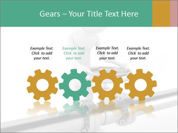3d Worker Fixing Pipes PowerPoint Template - Slide 48