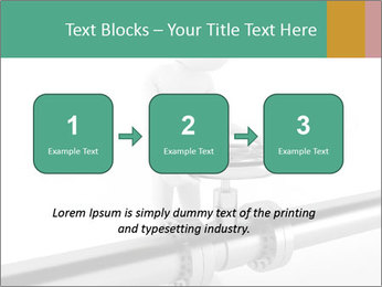 3d Worker Fixing Pipes PowerPoint Template - Slide 71