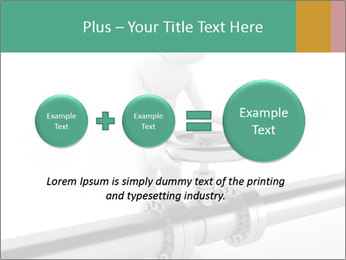 3d Worker Fixing Pipes PowerPoint Template - Slide 75