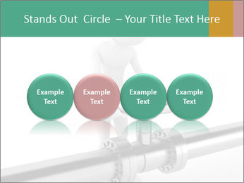 3d Worker Fixing Pipes PowerPoint Template - Slide 76