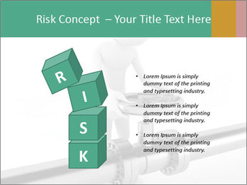 3d Worker Fixing Pipes PowerPoint Template - Slide 81