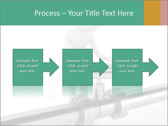 3d Worker Fixing Pipes PowerPoint Template - Slide 88