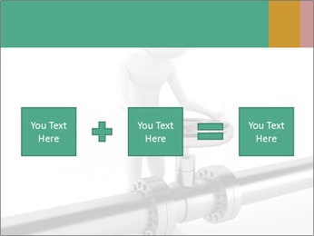 3d Worker Fixing Pipes PowerPoint Template - Slide 95