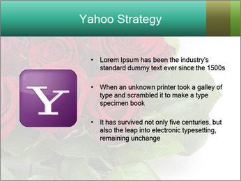 Elegant Red Rose Bouquet PowerPoint Template - Slide 11