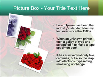 Elegant Red Rose Bouquet PowerPoint Template - Slide 17