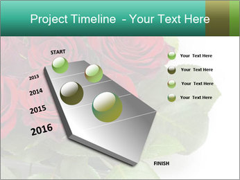Elegant Red Rose Bouquet PowerPoint Template - Slide 26