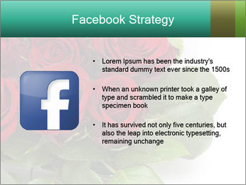 Elegant Red Rose Bouquet PowerPoint Template - Slide 6