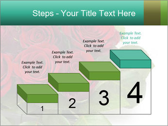Elegant Red Rose Bouquet PowerPoint Template - Slide 64